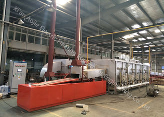 High Temperature Continuous Brazing Furnace With Cooling Section / Heat Exchanger