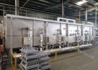 China Mesh Belt Transfer High Temperature Brazing Furnace Equipment Long Muffle Lifespan supplier