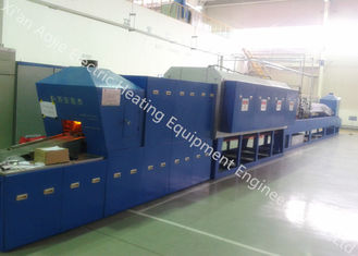 China Microcomputer Control Aluminum Brazing Furnace , High Temperature Vacuum Brazing Equipment supplier