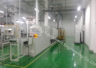 China Easy Control Furnace Brazing Equipment , Brazing High Temperature Furnace No Oxidation supplier
