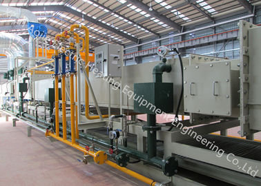 China Mesh Belt Furnace Brazing Equipment , High Speed Continuous Furnace Brazing Process supplier