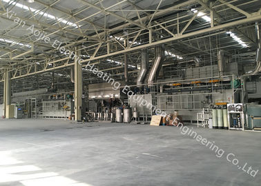 China Nitrogen Protection Controlled Atmosphere Brazing 730 Kw For Intercooler / Oil Cooler supplier