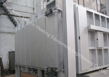 China Resistant Electric Car Bottom Furnace With High Intermediate And Low Temperature supplier