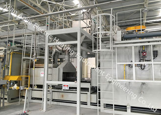High Heat Efficiency Continuous Brazing Furnace For Stainless Steel Plate