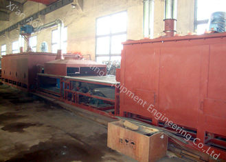 China Continuous Type Heat Treatment Furnace For Oil Cooler / Laminated Evaporator Brazing supplier