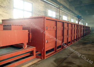 China Mesh Belt Gas Brazing Equipment , Copper Brazing Furnace One Year Warranty supplier