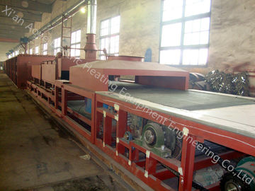 China Heavy Duty Continuous Brazing Furnace , Alu Brazing Oven Completed Control System supplier