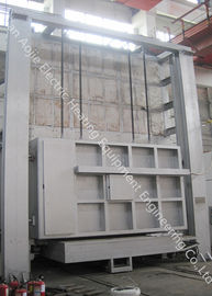 Industrial Heat Treatment Car Bottom Furnace Large Scale For Annealing / Normalizing